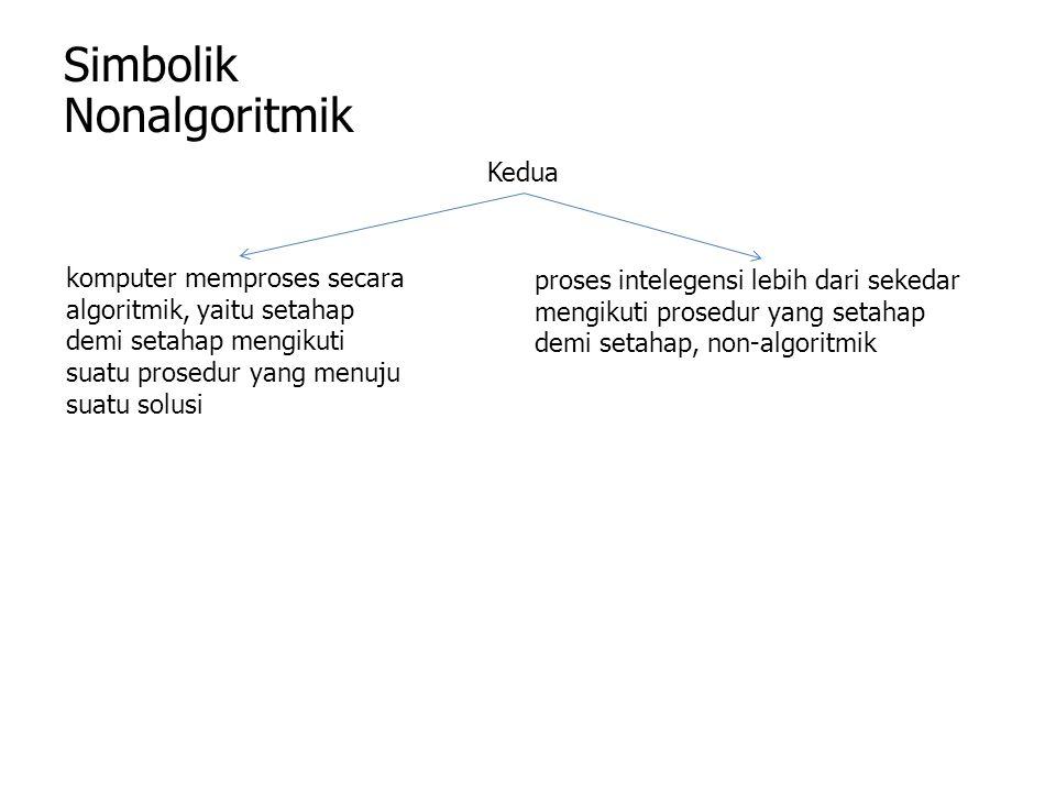 Simbolik Nonalgoritmik