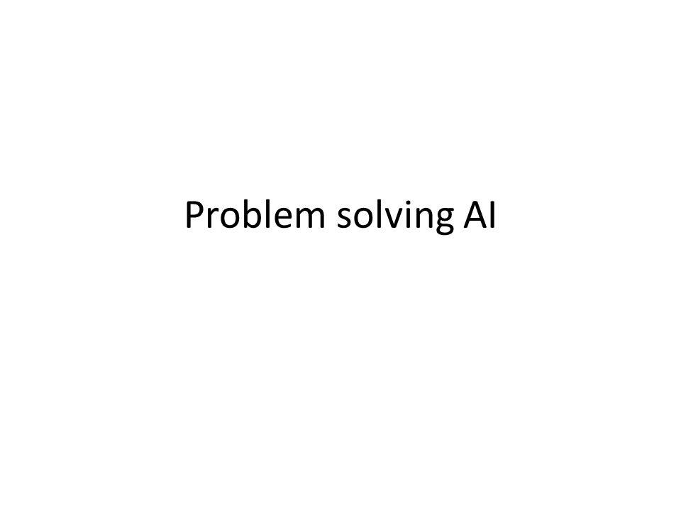 Problem solving AI