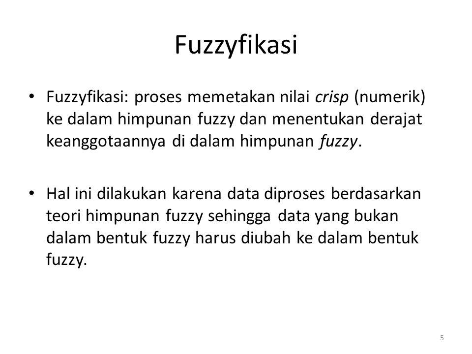 Fuzzyfikasi