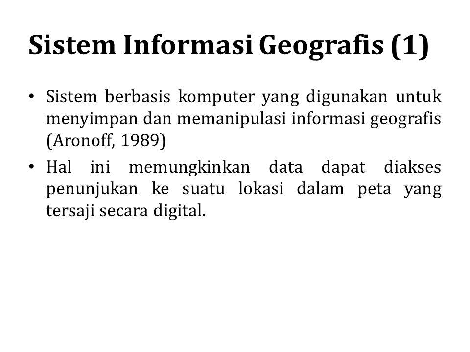 Sistem Informasi Geografis (1)