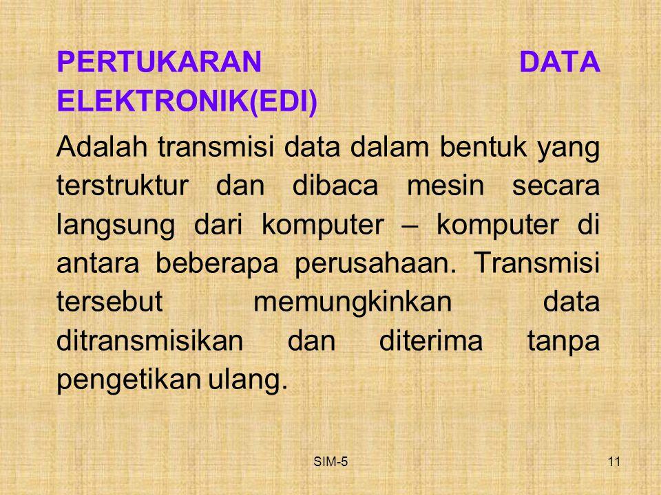 PERTUKARAN DATA ELEKTRONIK(EDI)