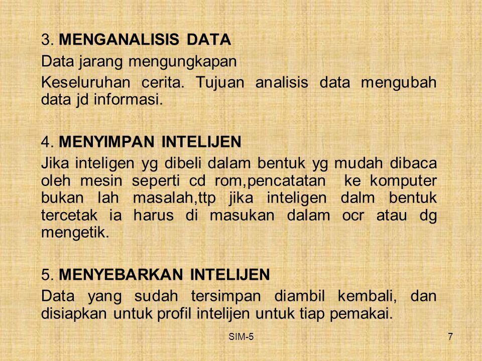 Data jarang mengungkapan
