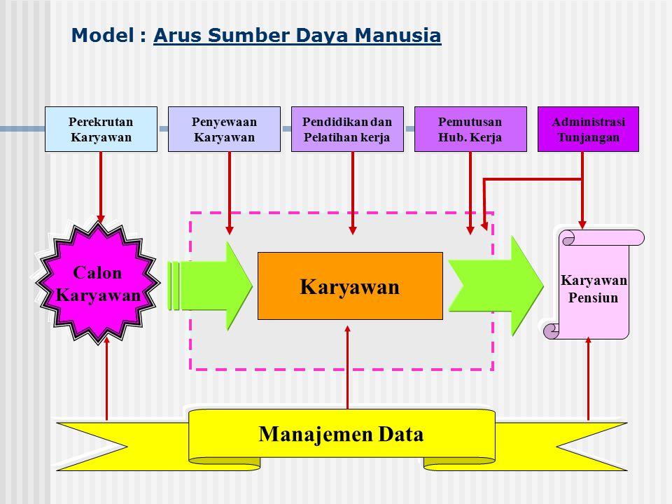 Model : Arus Sumber Daya Manusia