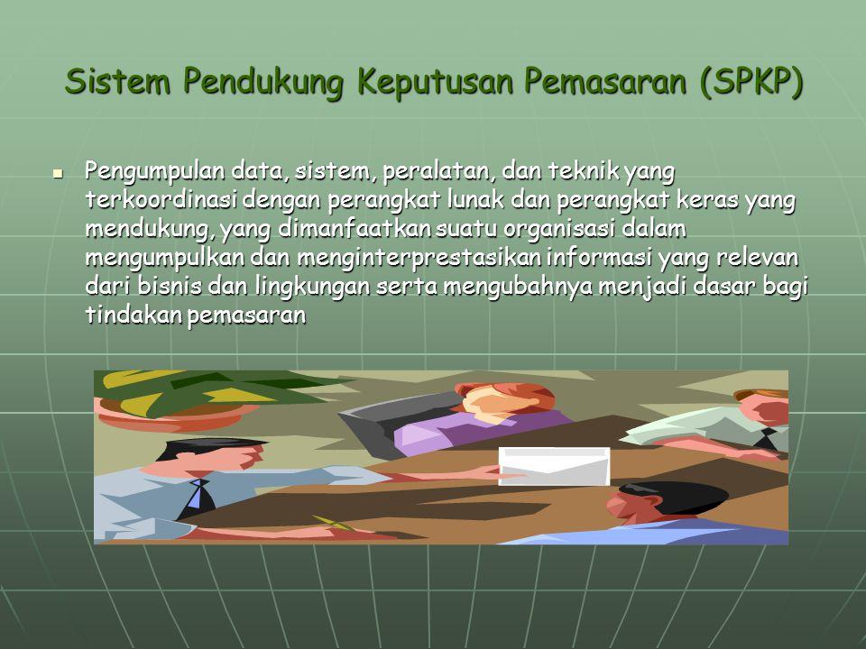 Sistem Pendukung Keputusan Pemasaran (SPKP)