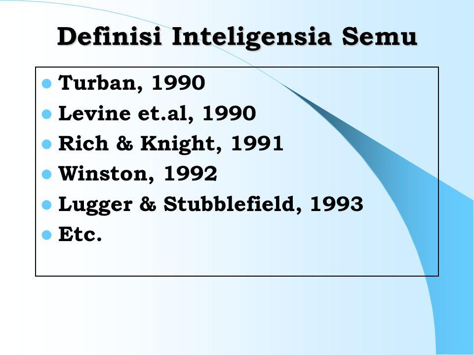 Definisi Inteligensia Semu
