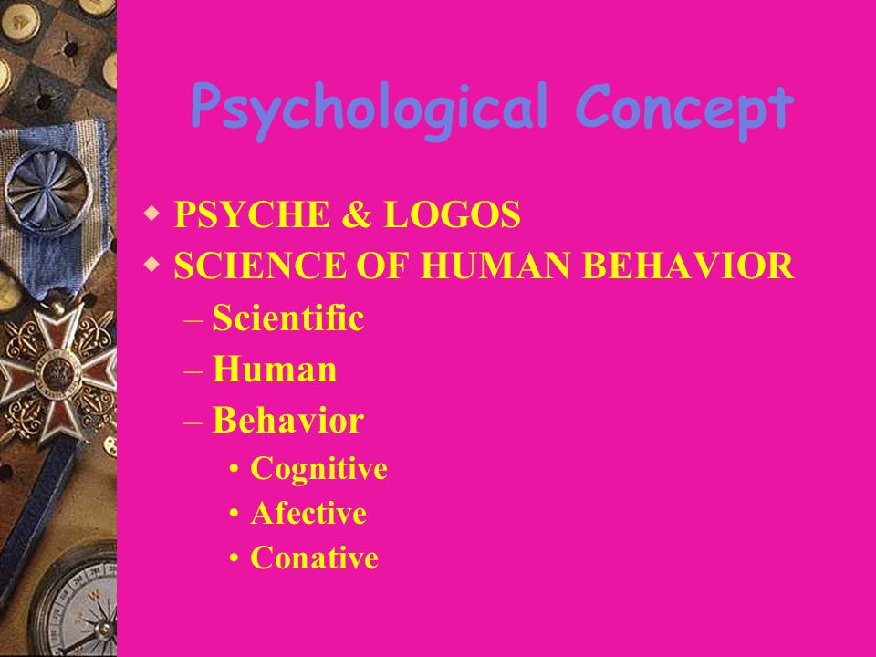 Psychological Concept