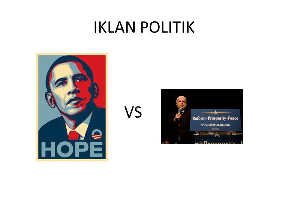 IKLAN POLITIK VS
