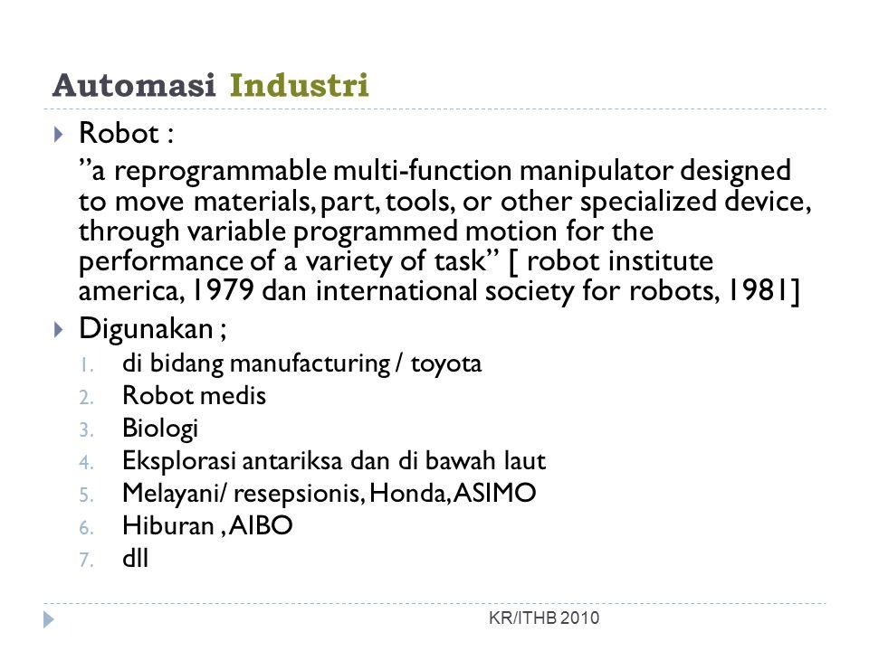 Automasi Industri Robot :
