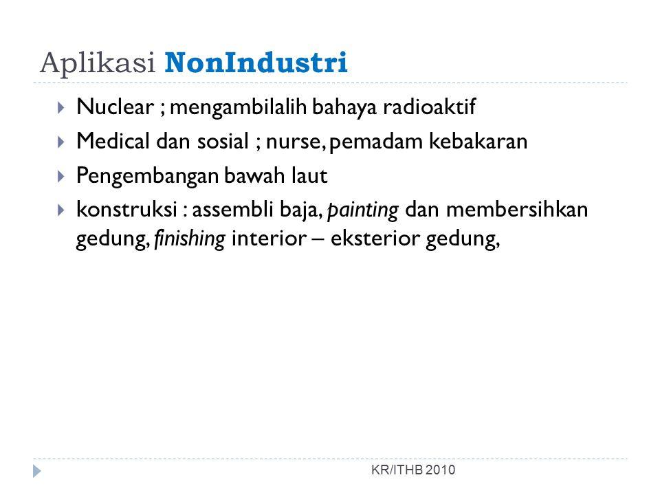 Aplikasi NonIndustri Nuclear ; mengambilalih bahaya radioaktif