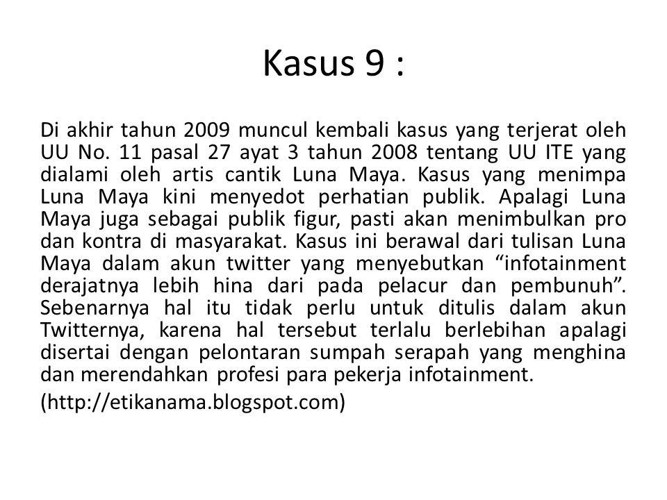 Kasus 9 :