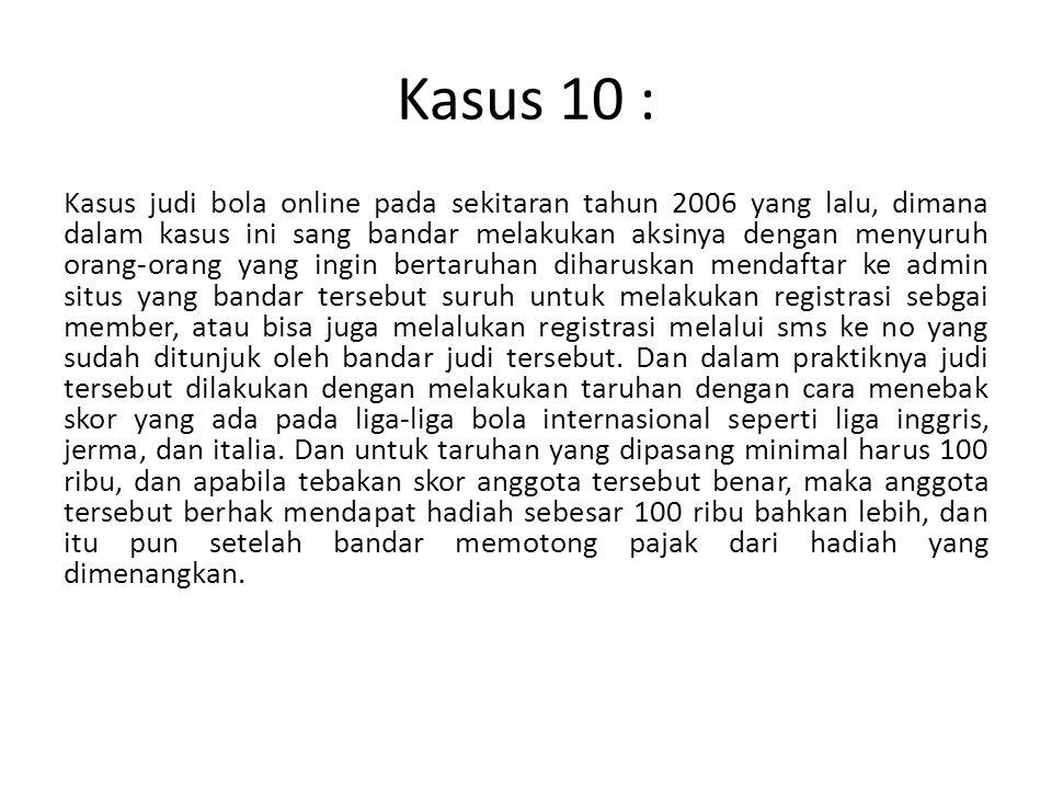 Kasus 10 :