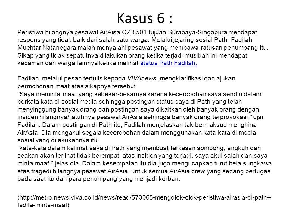 Kasus 6 :