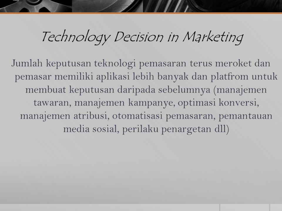 decision in marketing Buyer decision process marketing teacher designs and delivers online marketing courses, training and resources for marketing learners.