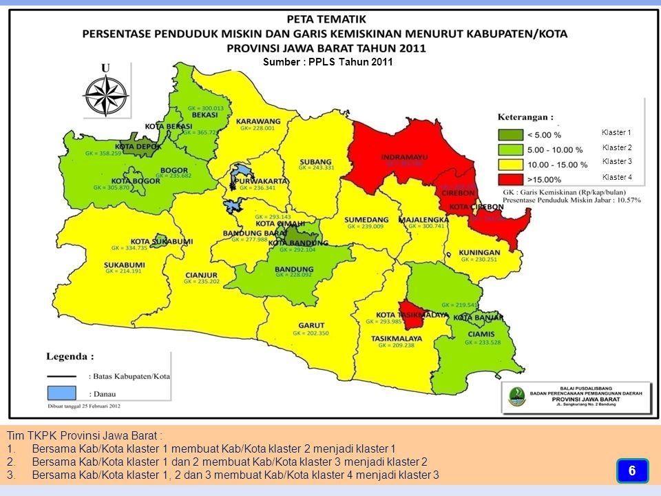 6 Tim TKPK Provinsi Jawa Barat :