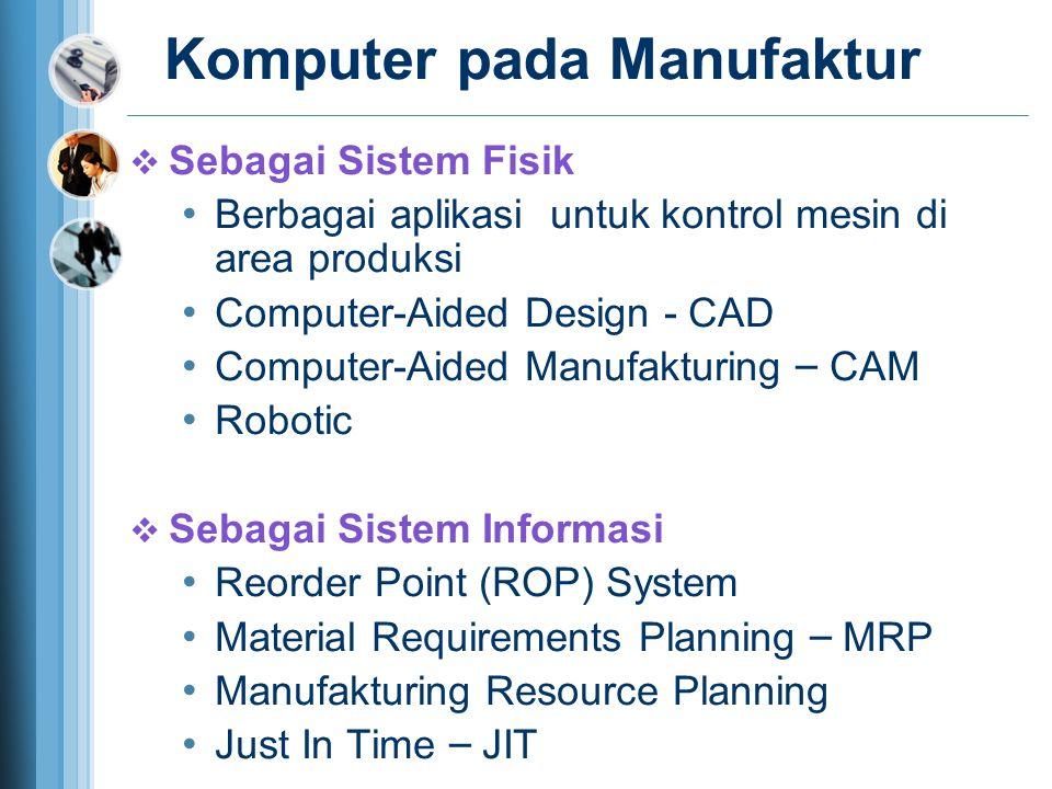Komputer pada Manufaktur