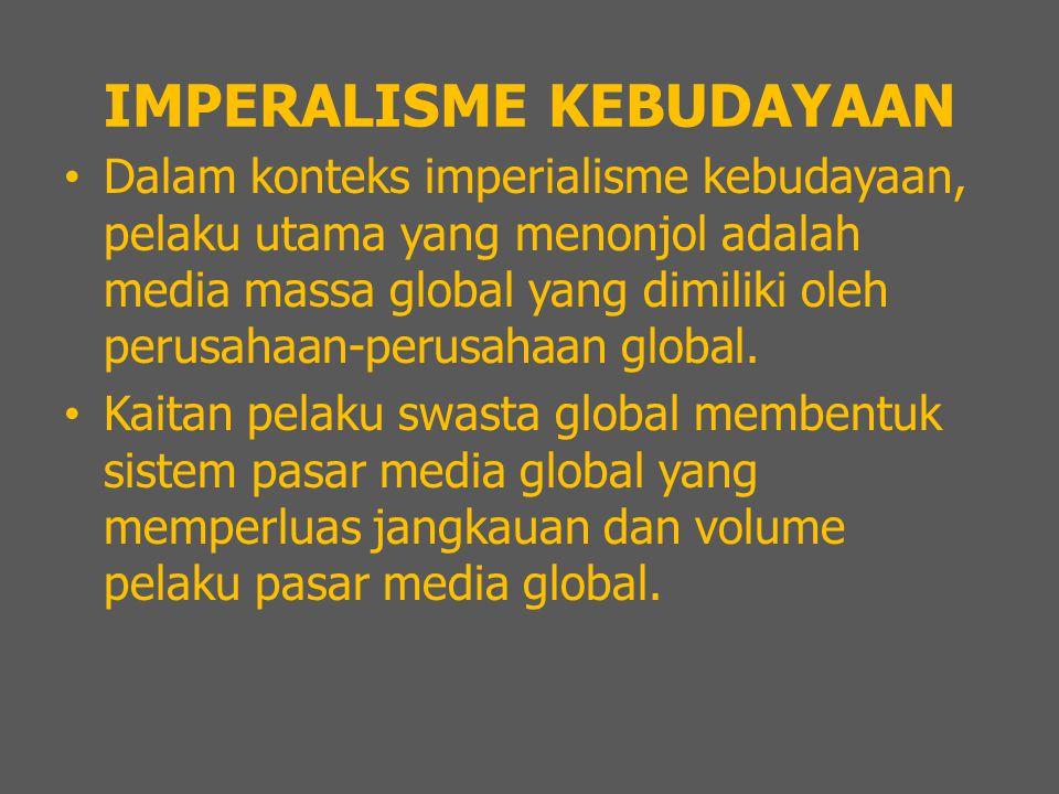 IMPERALISME KEBUDAYAAN