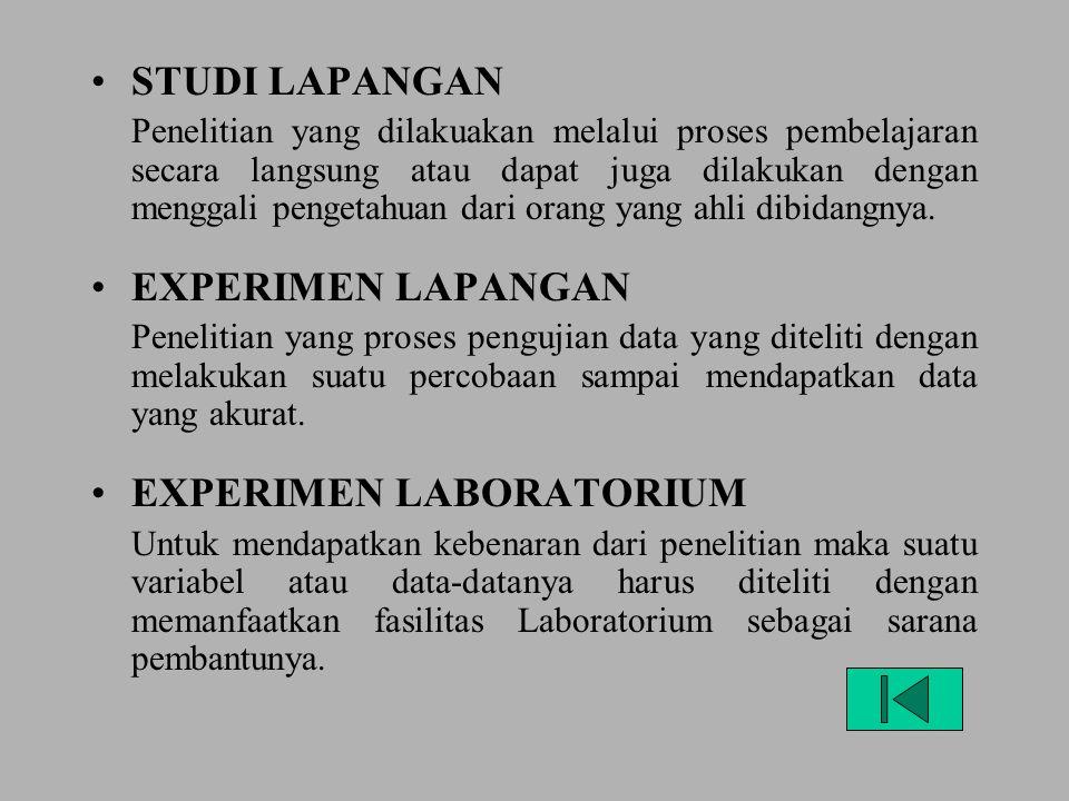 EXPERIMEN LABORATORIUM