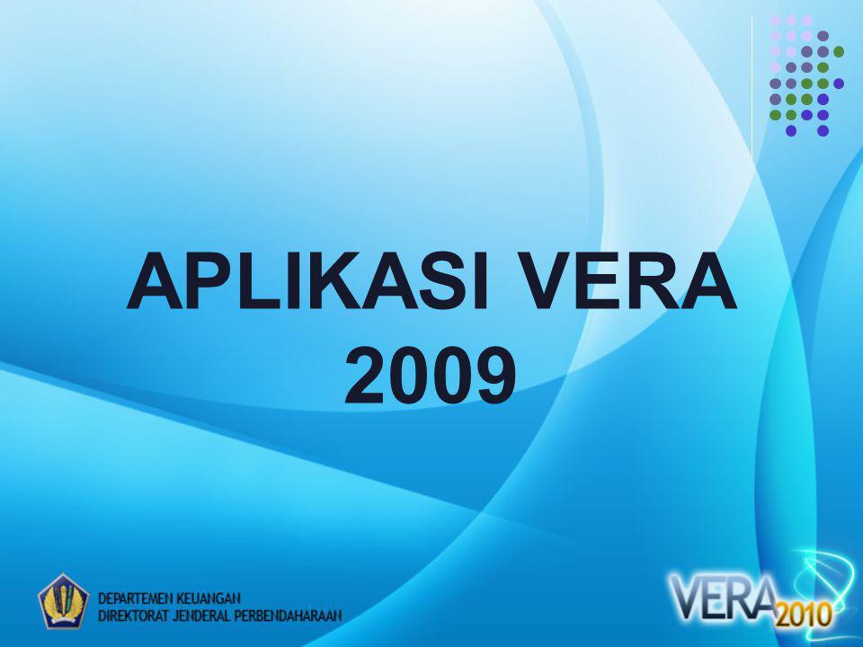 APLIKASI VERA 2009