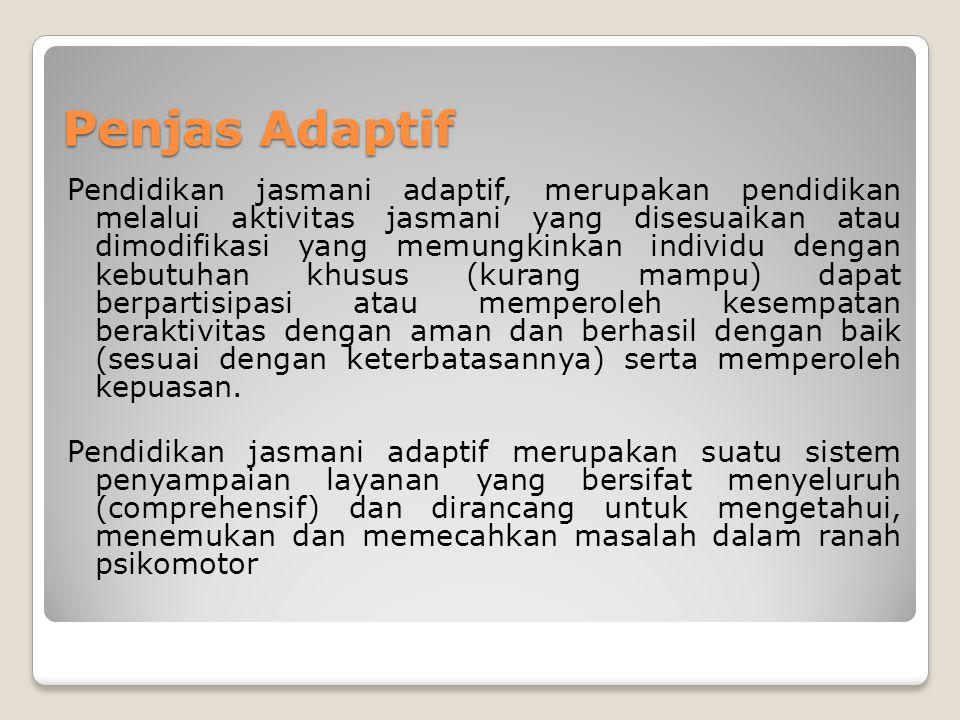 Penjas Adaptif