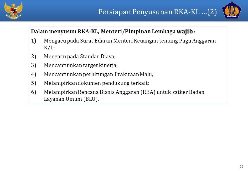 Persiapan Penyusunan RKA-KL …(2)