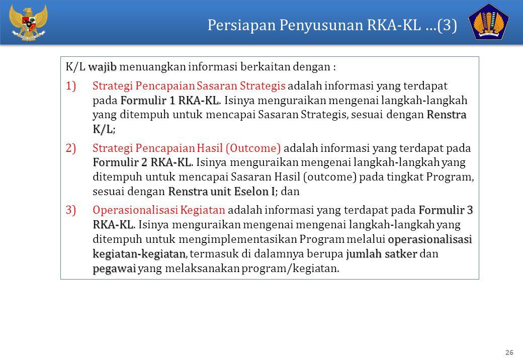 Persiapan Penyusunan RKA-KL …(3)