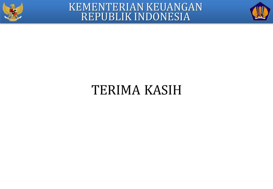 KEMENTERIAN KEUANGAN REPUBLIK INDONESIA TERIMA KASIH