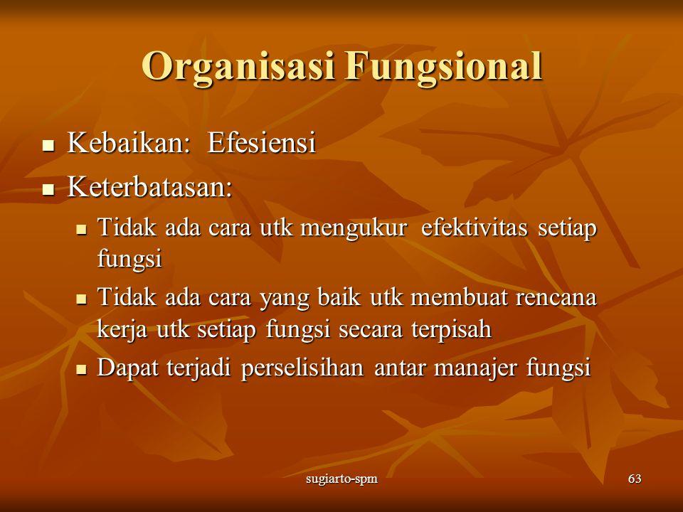 Organisasi Fungsional