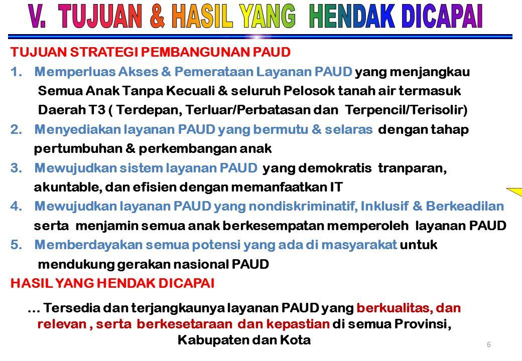 V. TUJUAN & HASIL YANG HENDAK DICAPAI