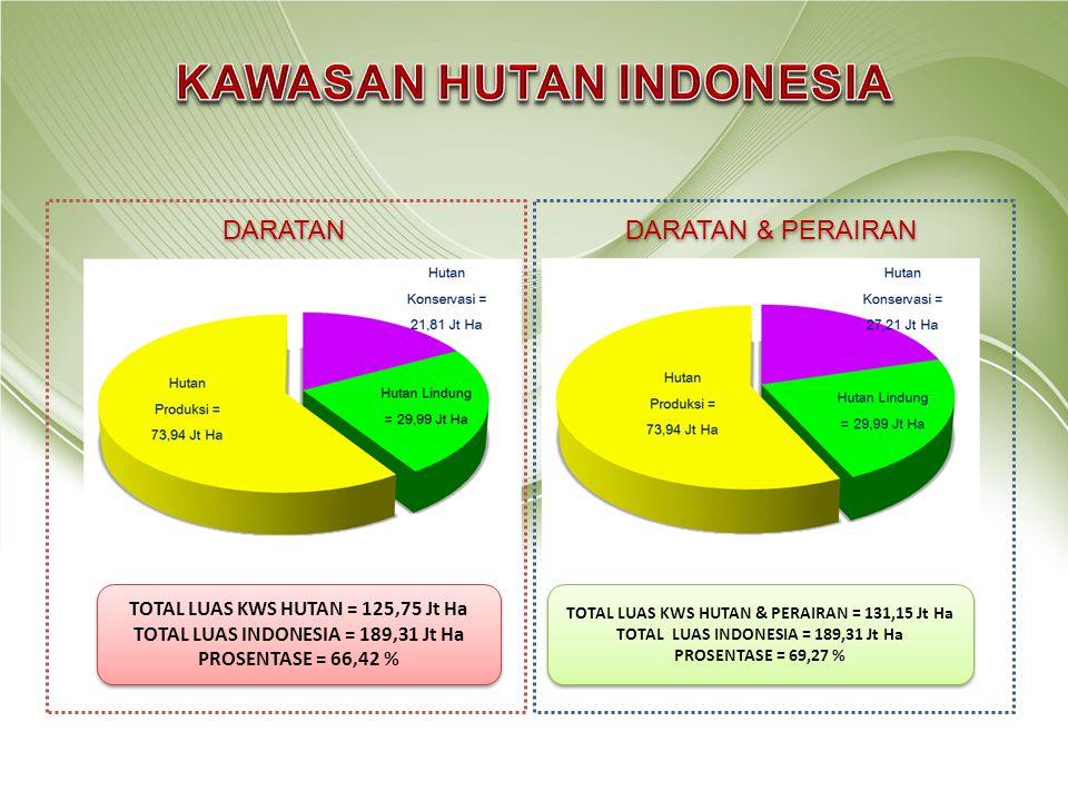 KAWASAN HUTAN INDONESIA