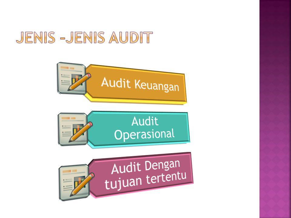 Audit Dengan tujuan tertentu