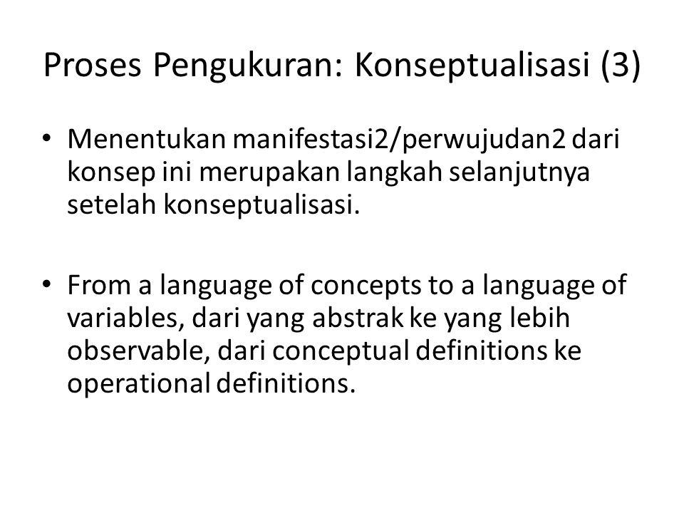 Proses Pengukuran: Konseptualisasi (3)