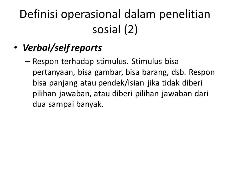 Definisi operasional dalam penelitian sosial (2)