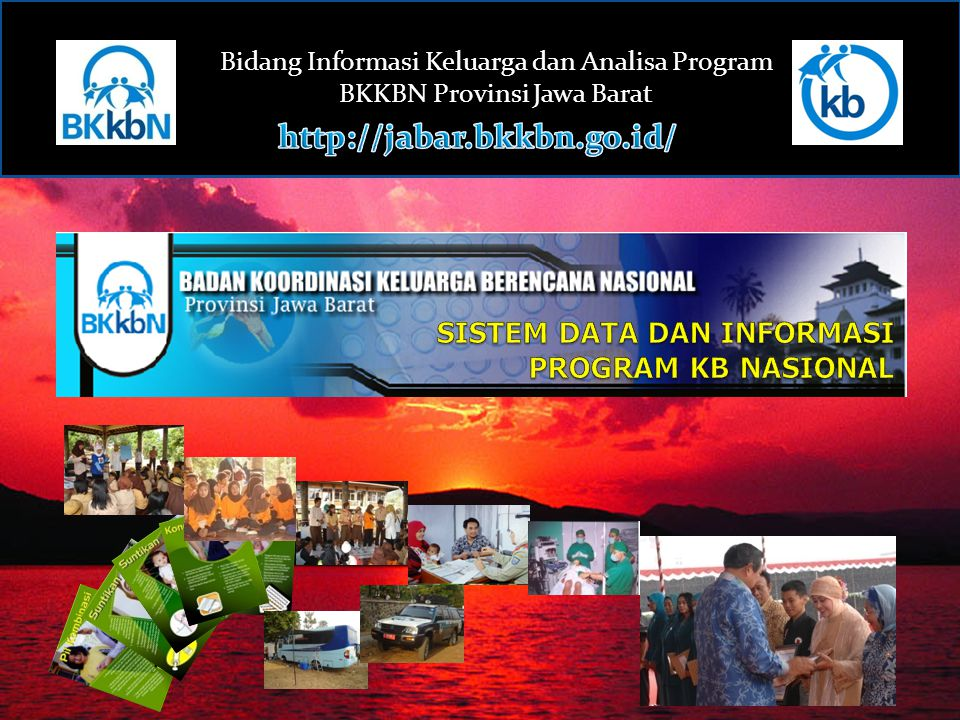 SISTEM DATA DAN INFORMASI PROGRAM KB NASIONAL