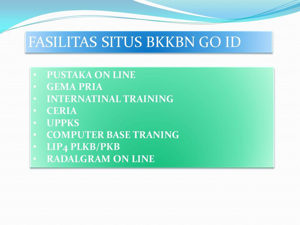 FASILITAS SITUS BKKBN GO ID