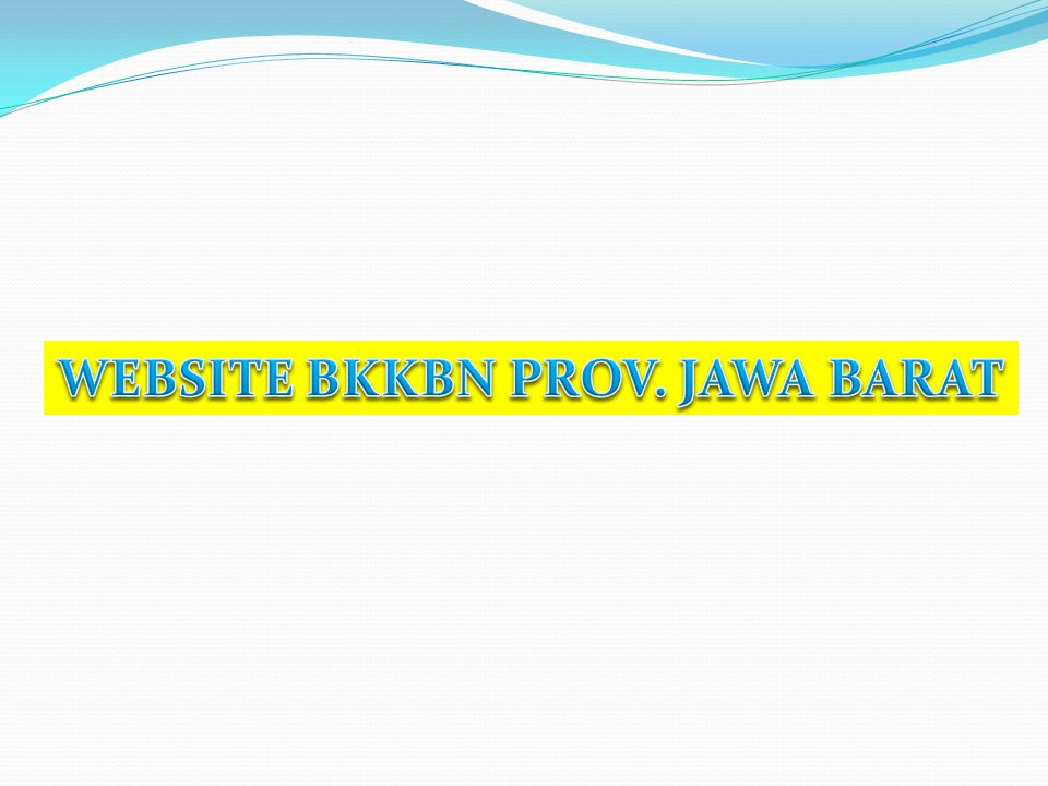 WEBSITE BKKBN PROV. JAWA BARAT