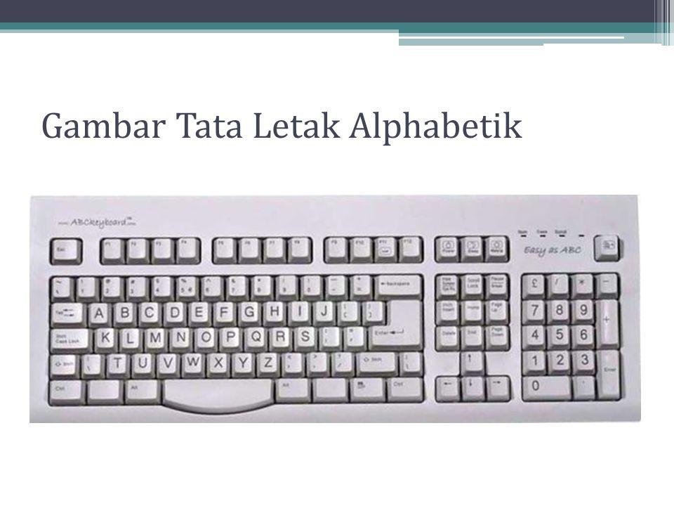 Gambar Tata Letak Alphabetik
