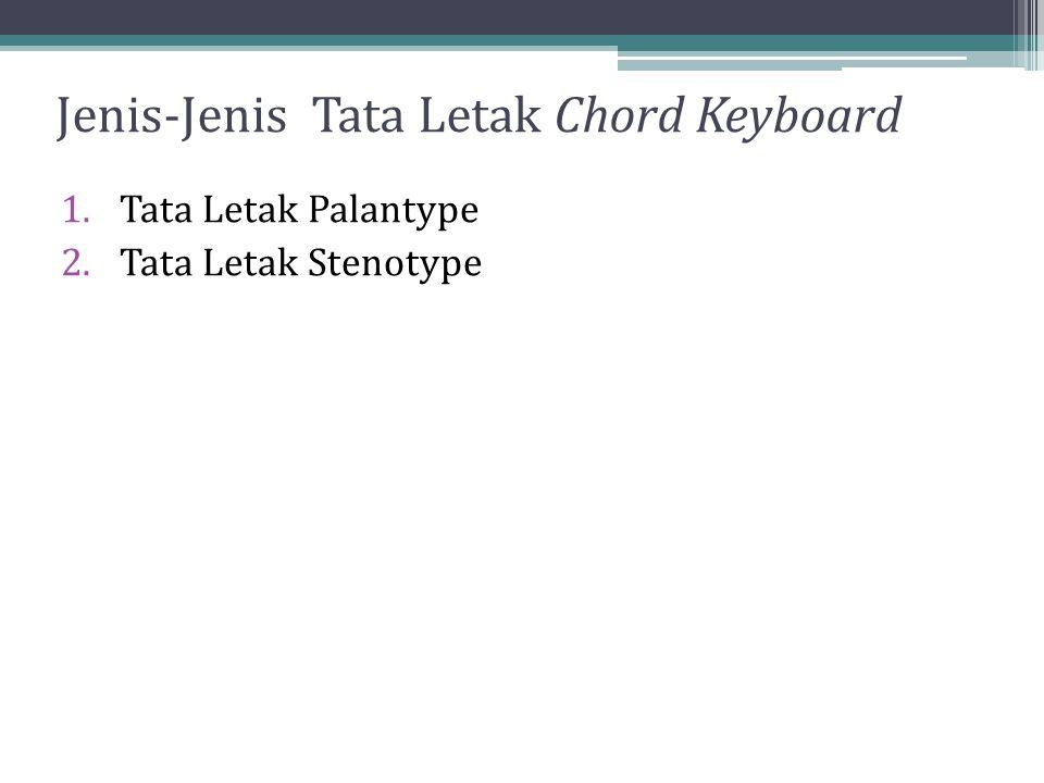 Jenis-Jenis Tata Letak Chord Keyboard
