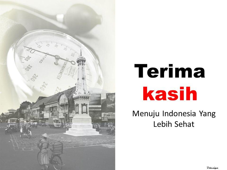 Menuju Indonesia Yang Lebih Sehat
