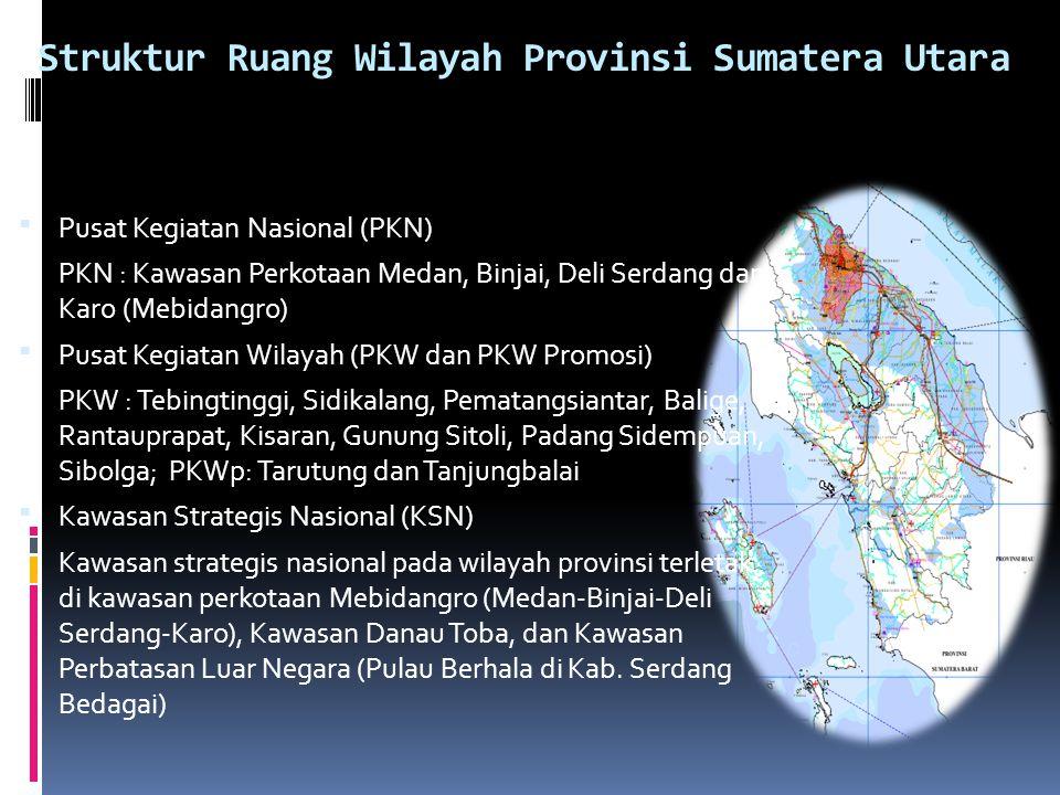 Struktur Ruang Wilayah Provinsi Sumatera Utara