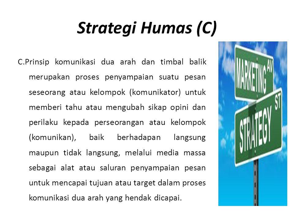 Strategi Humas (C)