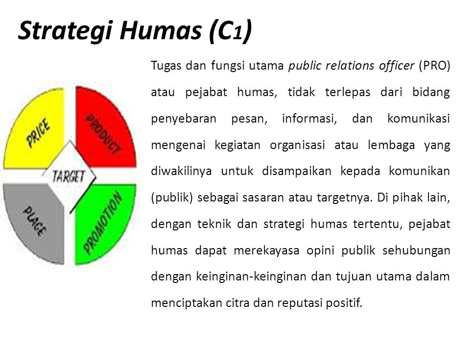 Strategi Humas (C1)