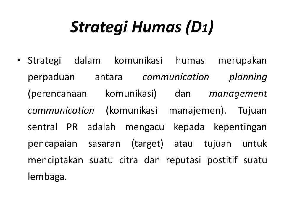 Strategi Humas (D1)