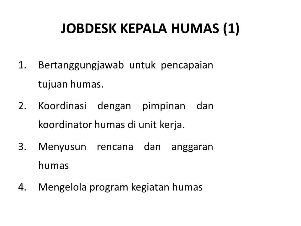 JOBDESK KEPALA HUMAS (1)