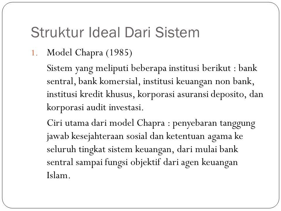 Struktur Ideal Dari Sistem