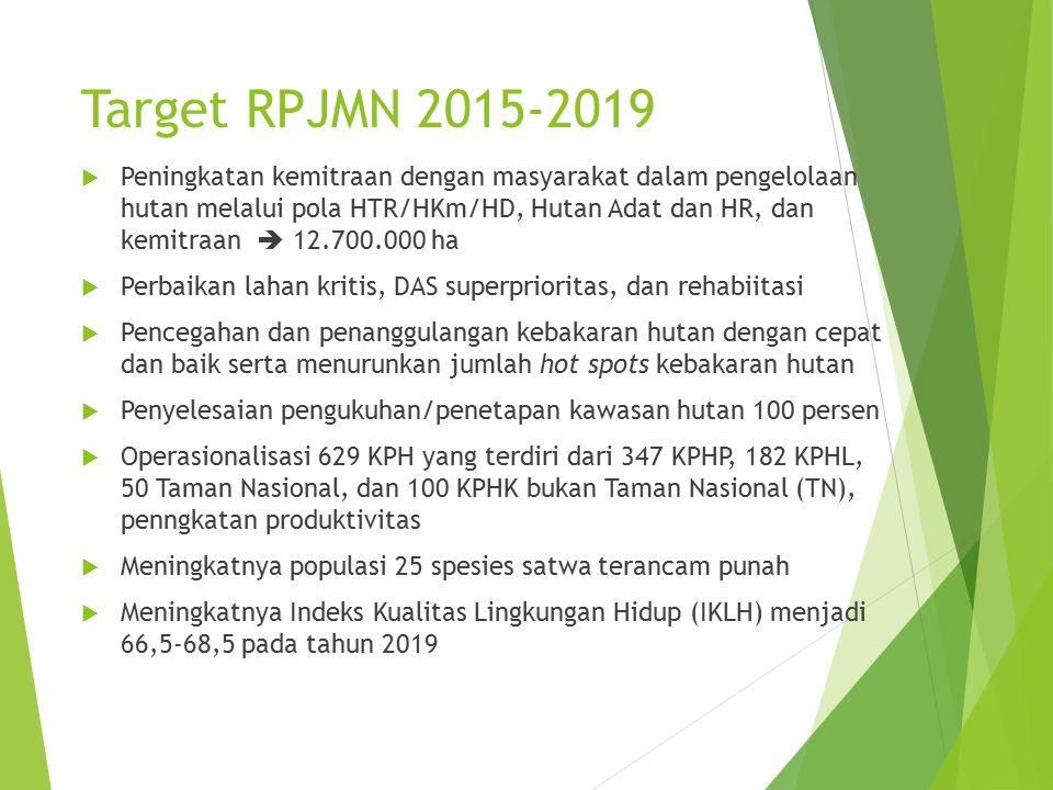 Target RPJMN 2015-2019