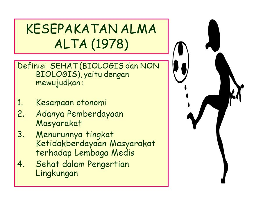 KESEPAKATAN ALMA ALTA (1978)