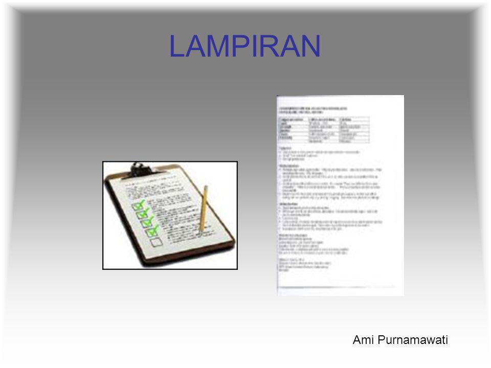LAMPIRAN Ami Purnamawati