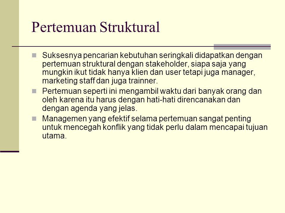 Pertemuan Struktural