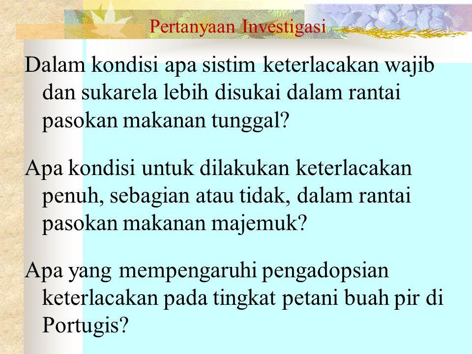 Pertanyaan Investigasi