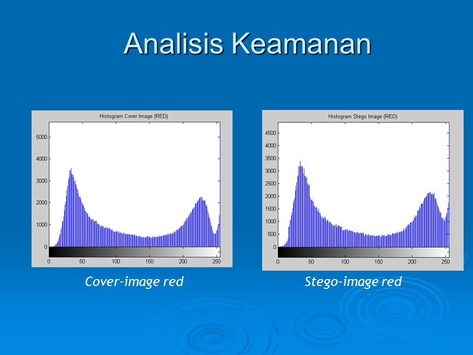 Analisis Keamanan Cover-image red Stego-image red